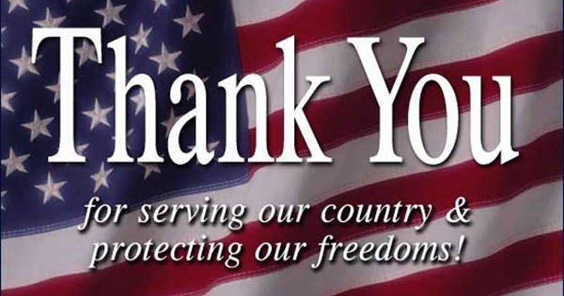 Today is the official observance of Veterans Day, 2018!