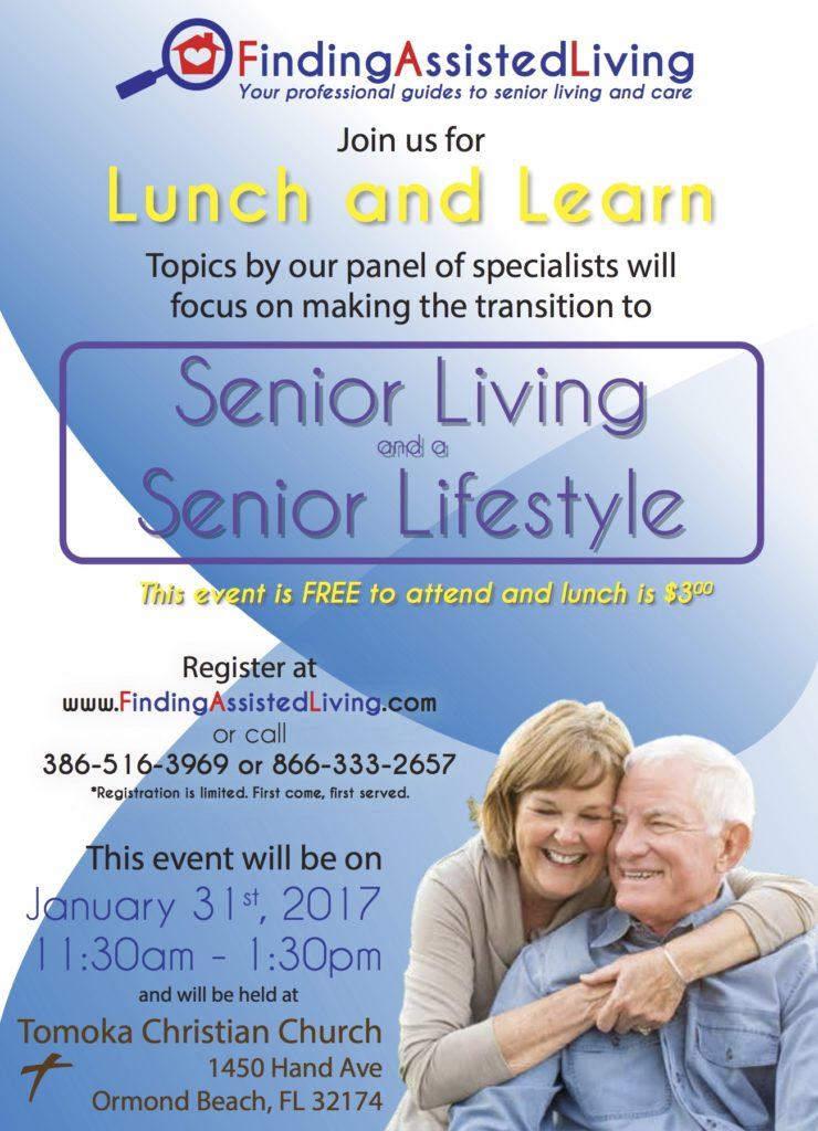Lunch and Learn Event Flyer, Announcement