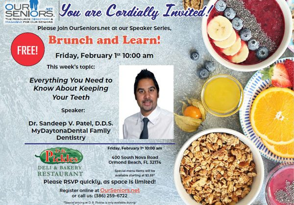 Have you been missing the OurSeniors.net Brunch and Learn events?