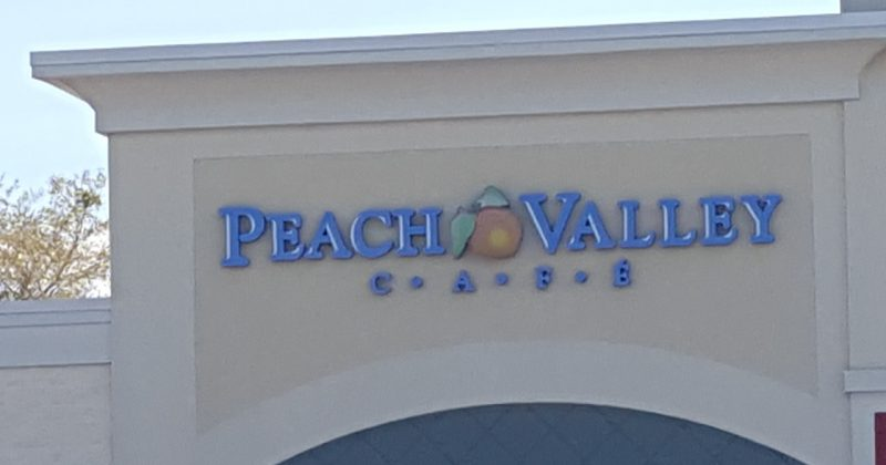 Thank you Peach Valley Cafe