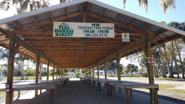 Thank you to All Aboard Flea and Farmers Market in Port Orange