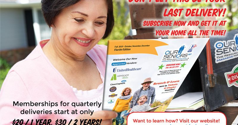 The OurSeniors.net Magazine Subscription!