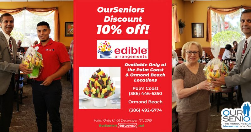 Thank you to Edible Arrangements